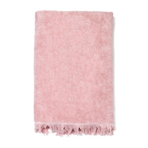 Set 8 ružových bavlnených uterákov a osušiek Casa Di Bassi Bath