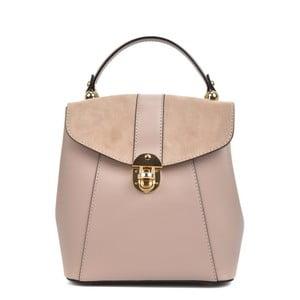 Ružový kožený batoh Isabella Rhea Carmit