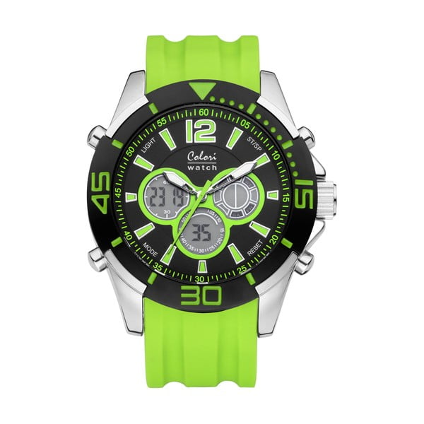 Hodinky Colori 47 Green