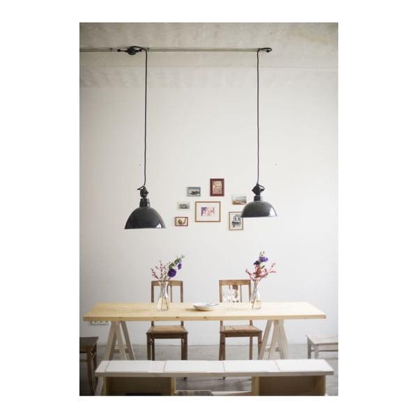 Stôl Stemke na bielych podstavcoch, 160 cm
