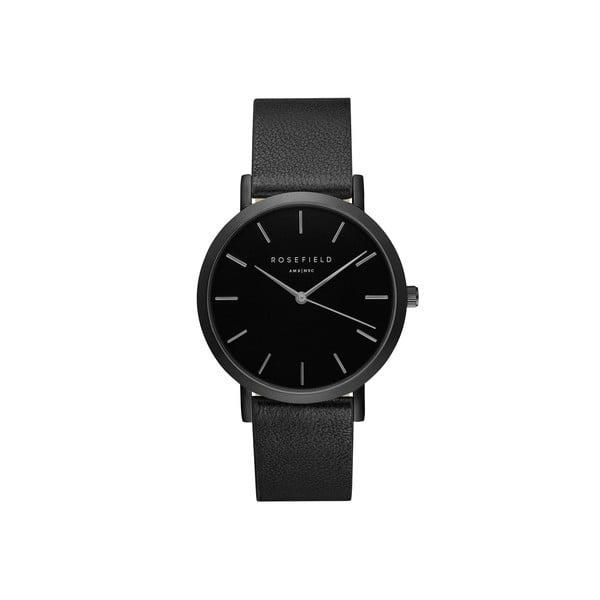 Čierne dámske hodinky Rosefield The Gramercy