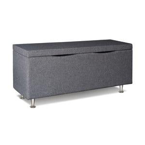 Svetlosivý úložný box Gemega Coffin, dĺžka 122 cm