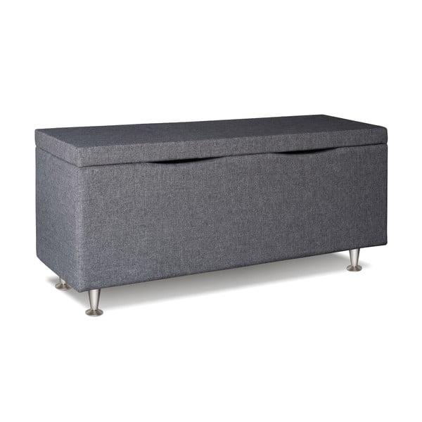 Svetlosivý úložný box Gemega Coffin, dĺžka 142 cm