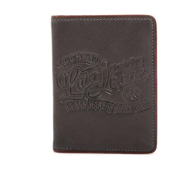 Kožená peňaženka Lois Garments, 11x8 cm