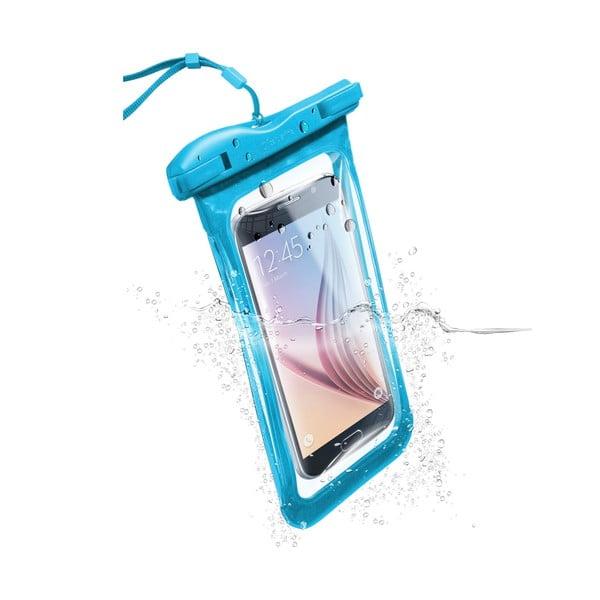 Vodoodolné univerzálne puzdro Cellularline VOYAGER, modré