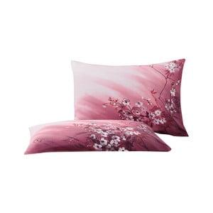 Sada 2 obliečok na vankúš z bavlny Bella Maison Rosa, 50×70 cm