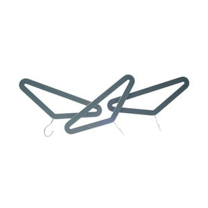 Sivý vešiak PT Hangers