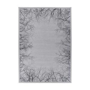 Sivý obojstranný koberec Narma Pulse Silver, 200 x 300 cm