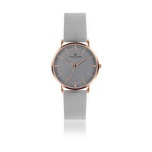 Unisex hodinky s remienkom z antikoro ocele v striebornej farbe Frederic Graff Eiger
