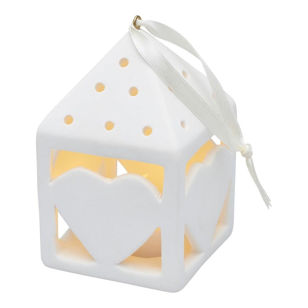 Svetelná LED dekorácia Sirius Olina Heart, výška 10,5 cm