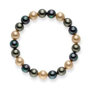 Perlový náramok Nova Pearls Copenhagen Medón, 19 cm