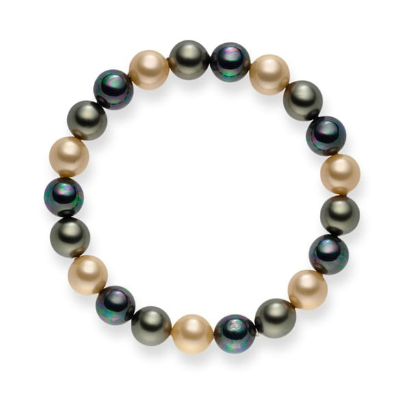 Perlový náramok Nova Pearls Copenhagen Mopsos, 21 cm
