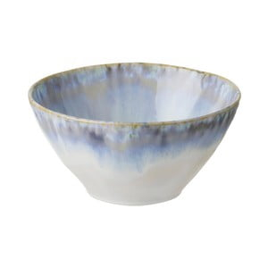 Modrobiela kameninová miska Costa Nova Brisa, ⌀ 15,5 cm