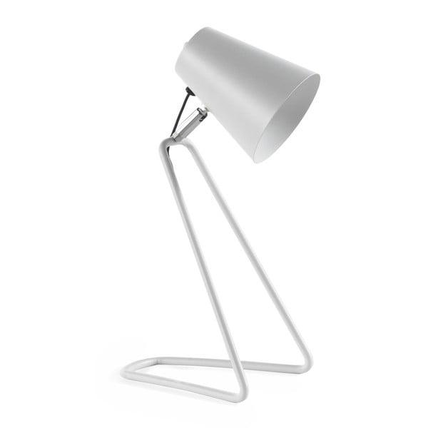 Biela stolová lampa Geese Line