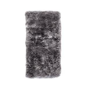 Sivý obdĺžnikový koberec Royal Dream Zealand