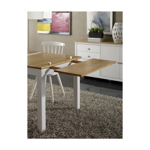 Prídavná doska na jedálenský stôl z masívneho borovicového dreva Marckeric Jade