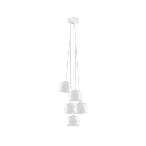 Biele stropné svietidlo Sotto Luce MYOO Elementary 5BS Glossy