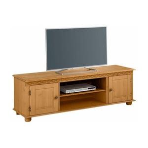 TV stolík z borovicového dreva Støraa Seattle