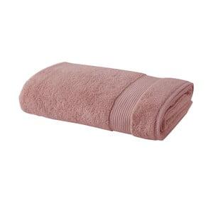 Ružový bavlnený uterák Bella Maison Simple, 50×90 cm