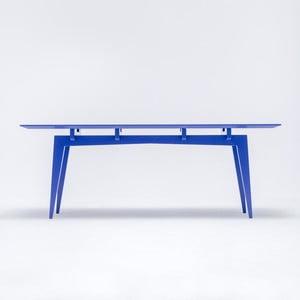 Jedálenský stôl Yamaza, modrý