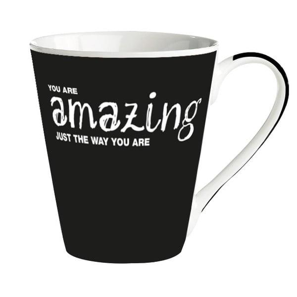 Porcelánový hrnček KJ Collection You Are Amazing Just The Way You Are, 300ml