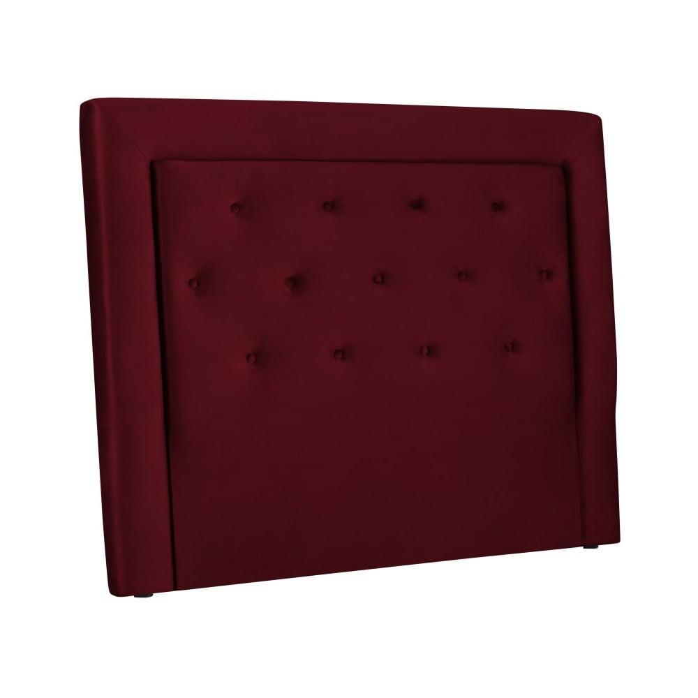 Vínovočervené čelo postele Cosmopolitan Cloud, šírka 160 cm