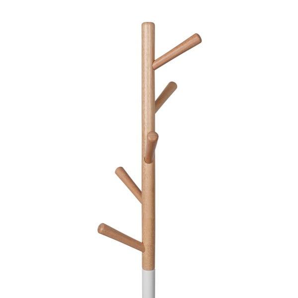 Biely vešiak s odkladacím priestorom Zuiver Table Tree