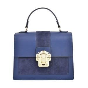 Modrá kožená kabelka Isabella Rhea Misso