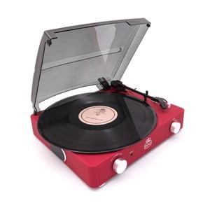 Červený gramofón GPO Stylo II Red
