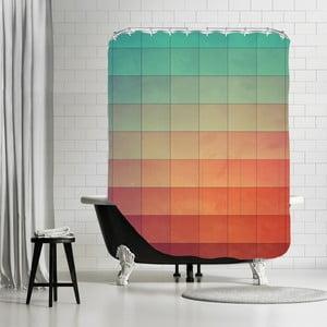 Kúpeľňový záves Colourfull, 180x180 cm