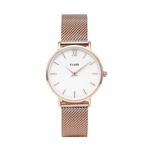 Dámske hodinky antikoro vo farbe ružového zlata cluse Minuit