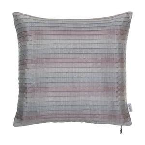 Plisovaná obliečka na vankúš Apolena, ružovkastá