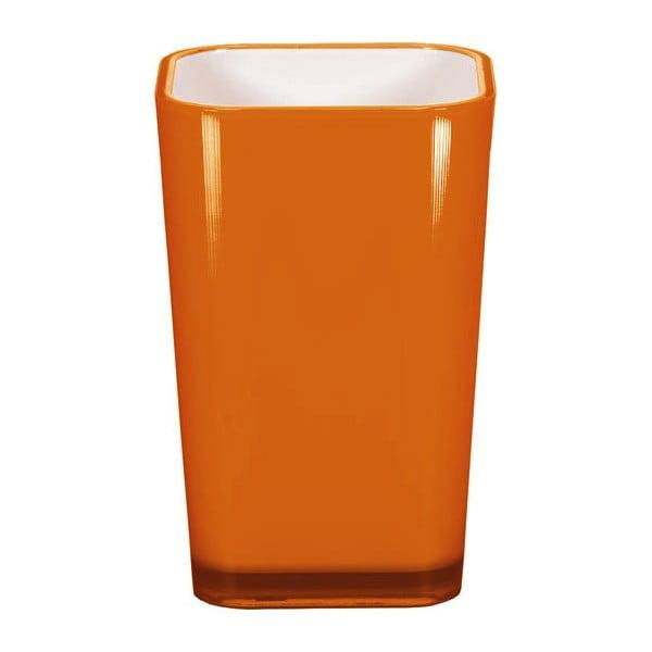 Kelímok na zubné kefky Easy Orange