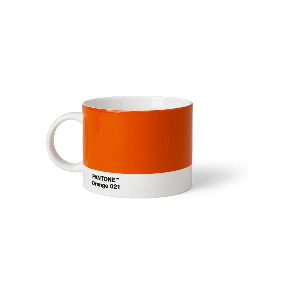 Oranžový hrnček na čaj Pantone, 475 ml