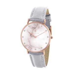 Sivé dámske hodinky Black Oak Marble