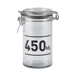 Sklenená dóza s vekom KJ Collection Jar, 450ml