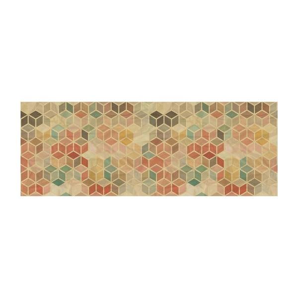 Vinylový koberec Cubos Vintage, 66x180 cm