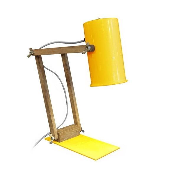 Žltá stolová lampa Red Cartel Baltic, 58 cm