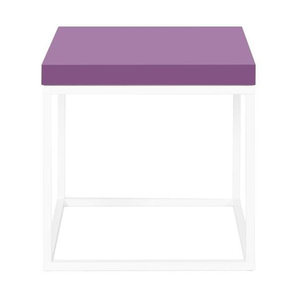 Odkladací stolík s fialovou doskou TemaHome Prairie