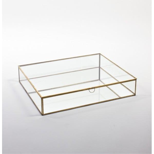 Sklenená vitrína ComingB Miroir, 55x45 cm
