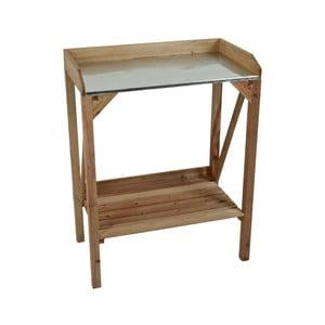 Záhradný drevený odkladací stolík ADDU