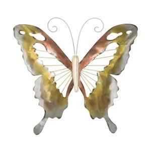 Nástenná dekorácia Mauro Ferretti Butterfly, 35 × 30,5 cm