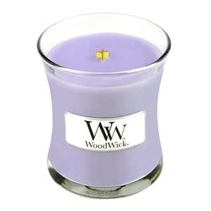 Vonná sviečka WoodWick v oválnej váze  Syringa Garden