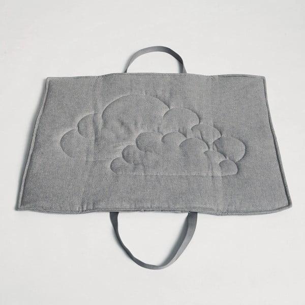 Rozkladacia taška/deka na psa Cloud7 M Gris
