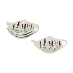 Porcelánové mištičky na čajové sáčky Lavender
