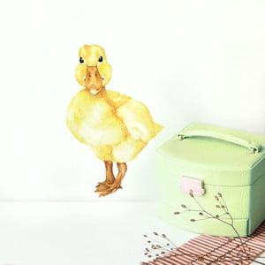 Nástenná znovu snímateľná samolepka Chocovenyl Duckling