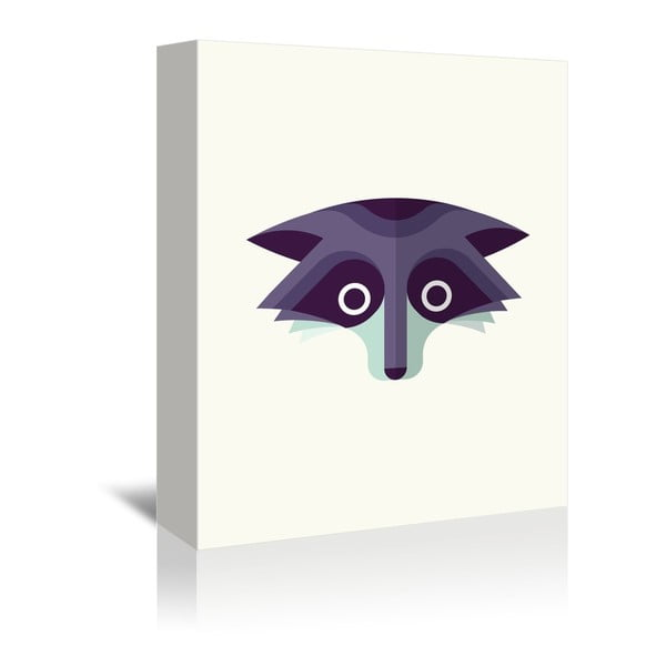 Obraz na plátne Raccoon od Christiana Jacksona