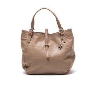 Kožená kabelka Theresa, hnedá