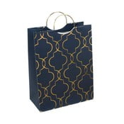 Modrá darčeková taška Tri-Coastal Design Navy Blush