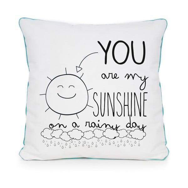Vankúš Sunshine Rainy, 45x45 cm